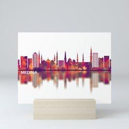 Medina Saudi Arabia Skyline Mini Art Print