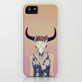 Zenith Lady iPhone Case