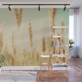 the wheat field ... Wall Mural