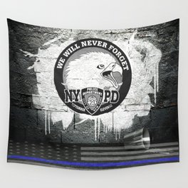 We Will Never Forget Wall Tapestry