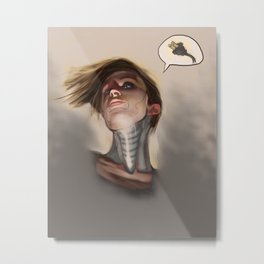 Windup Girl Metal Print