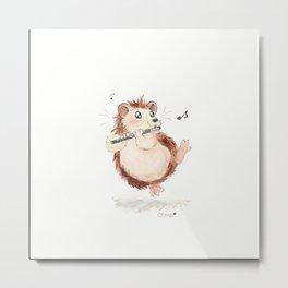 Piccolo Hedgehog Metal Print