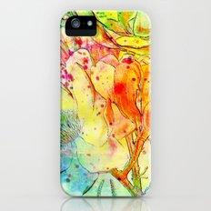 bright floral iPhone (5, 5s) Slim Case
