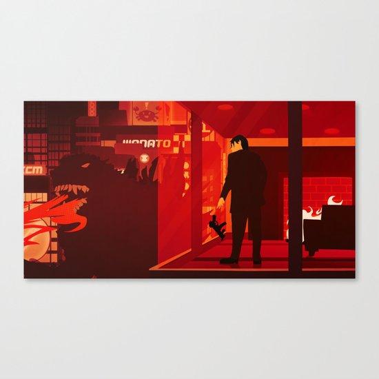 Kaiju II (Modern) Canvas Print