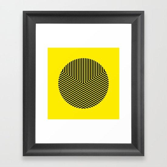 Y like Y Framed Art Print