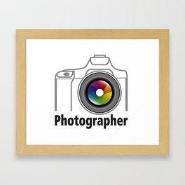 Photographer Community Framed Art Print