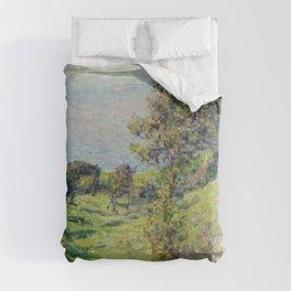 """Claude Monet """"Coup De Vent"""" Comforters"""
