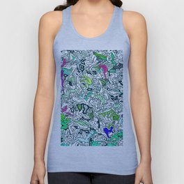 Kamasutra LOVE - Forest Green Unisex Tank Top