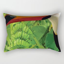 Brasil Tropical Rectangular Pillow