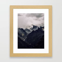 The Caucasus Framed Art Print