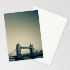 Tower Bridge at dusk Stationery Cards