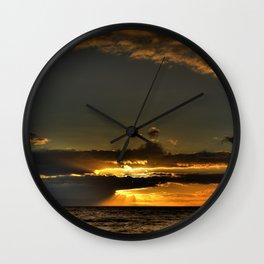 Cliche Sunset Wall Clock