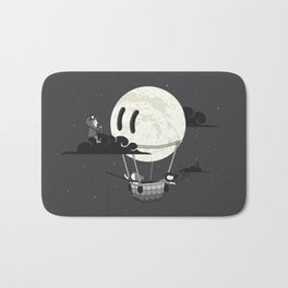 You Should See The Moon In Flight Bath Mat