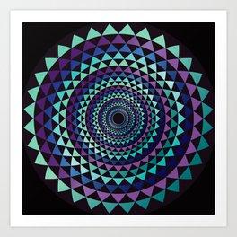 Spiral Yantra Art Print