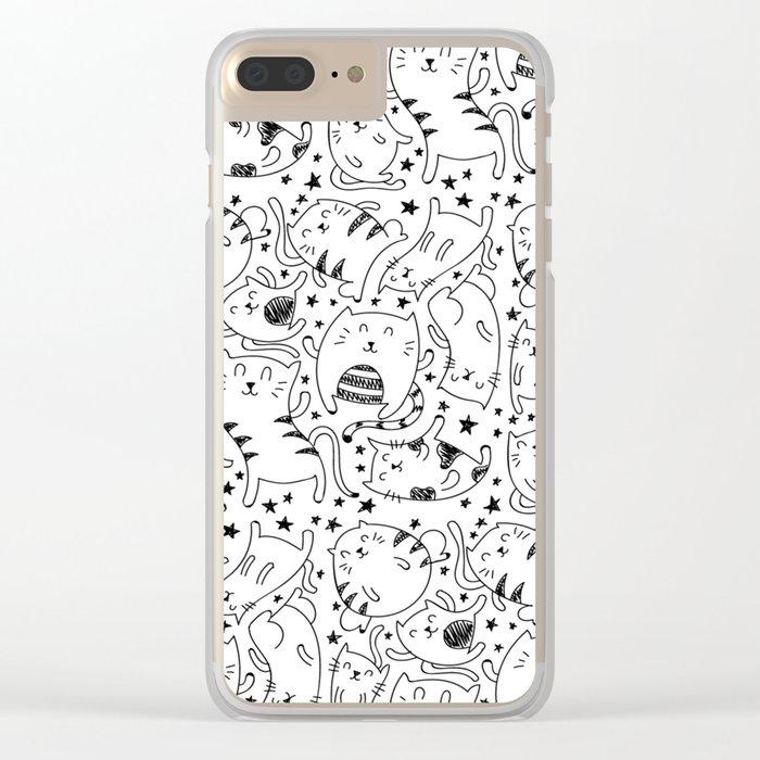 Kitty Boy Clear iPhone Case