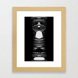 No1 - Blender 3d Experimental work Framed Art Print