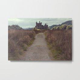 Highlands Castle Metal Print