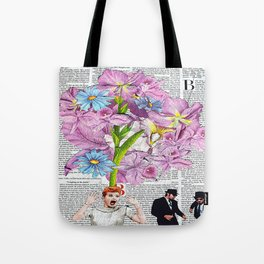 Lucy In The Sky With Brothers Tote Bag