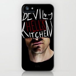 The Devil of Hell's Kitchen iPhone Case