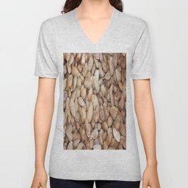 Harvested Almonds Unisex V-Neck