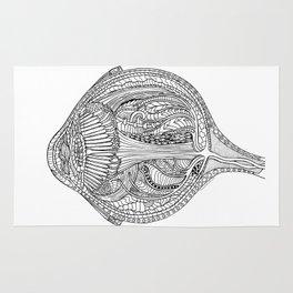 Anatomical Eyeball Rug