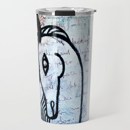 A horse from foreign country Travel Mug