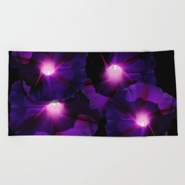 Morning Glory III Beach Towel