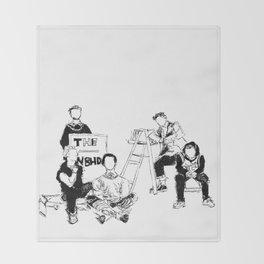 The neighbourhood: band  Throw Blanket