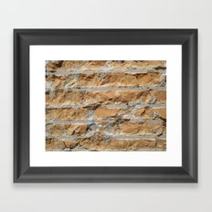 Cut Stone Framed Art Print