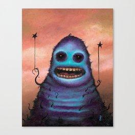 "The Camera Man Said ""Smile"" Canvas Print"