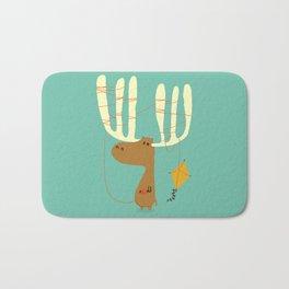 A moose ing Bath Mat