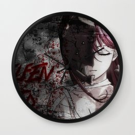 ELFEN LIED FACE Wall Clock