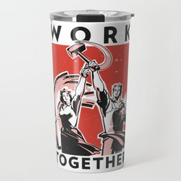Work Together Travel Mug