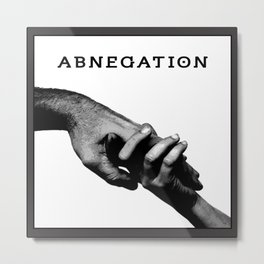 ABNEGATION - DIVERGENT (draw by me) Metal Print