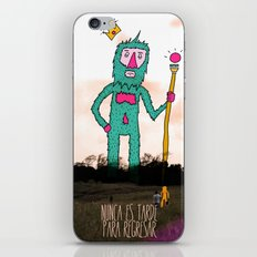 It's never to late to come back... iPhone & iPod Skin