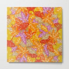 Autumn Leaves_I Metal Print