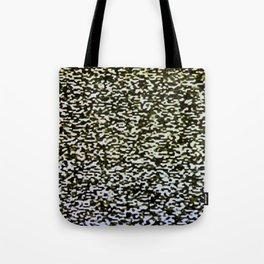 Analog TV Static Pattern Tote Bag