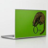 otter Laptop & iPad Skins featuring Otter by zuzia turek