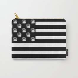 US Minifigure Flag - Horizontal Carry-All Pouch