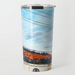 Graffiti and Lines Travel Mug