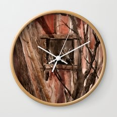 Barn window Wall Clock