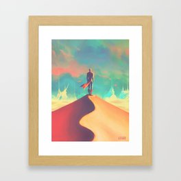 To dust Framed Art Print