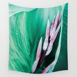 Pink Banana Flower Wall Tapestry