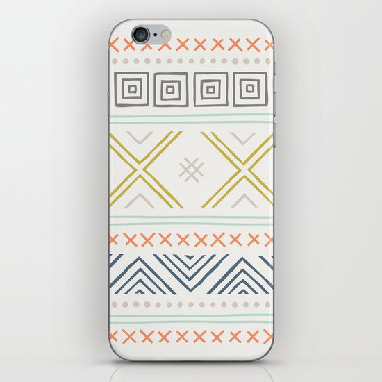 Into the West - in Mixed Earthtones iPhone Skin