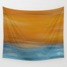 Stormy Seas Original Digital Painting #society6 #buyonline Wall Tapestry