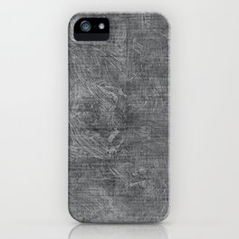 Glacier Gray Oil Painting Color Accent iPhone Case