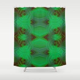 Greener Pattern 7 Shower Curtain