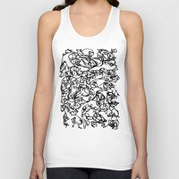 stained glass Tank Tops featuring glass stained by Raennon Hatch