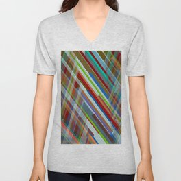 Abstract Composition 610 Unisex V-Neck