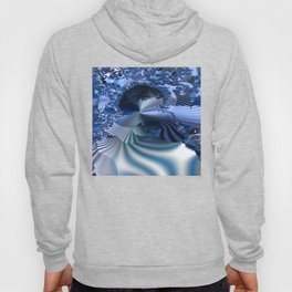 Organizing Chaos -- Striped fractal layers and details Hoody